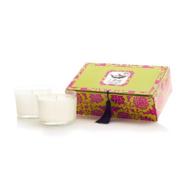 Sada 2 svíček Menthe Tea, 30-40 hodin hoření