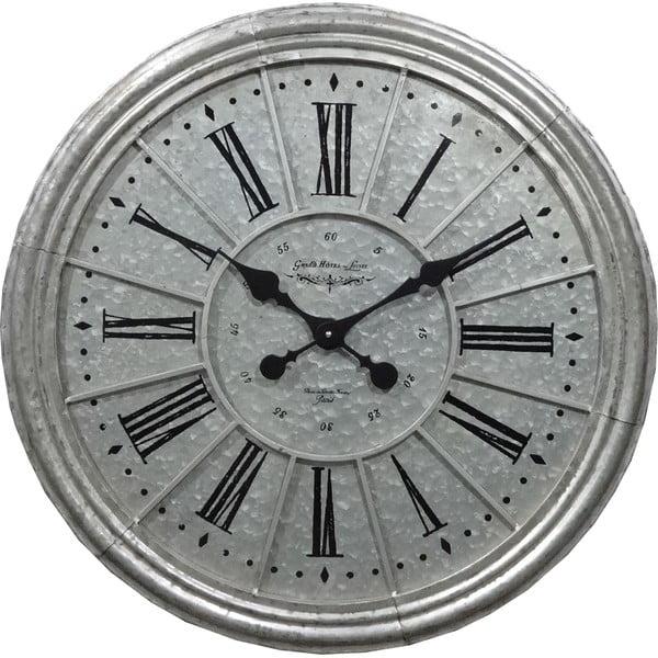 Nástěnné hodiny Athezza Zinc, 68,5 cm