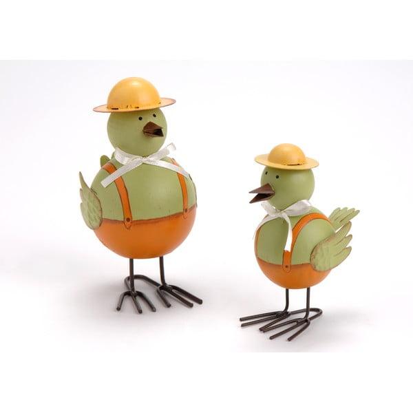 Dekorativní figurky Zelené kačeny