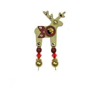 Broșă Deers Bonvi, 4 cm, auriu