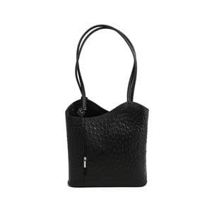 Černá kabelka z pravé kůže GIANRO' Straight