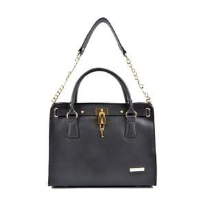 Černá kožená kabelka Roberta M Murille