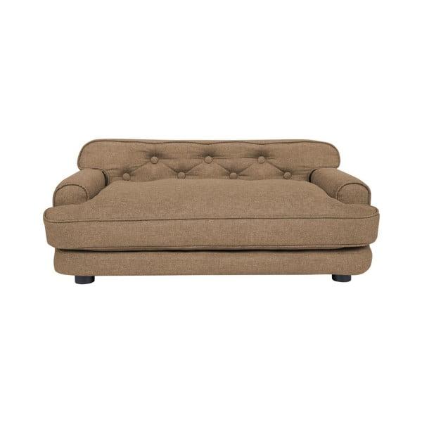Canapea pentru câini Marendog Modern Lux, maro nisipiu
