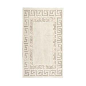 Krémově bílý bavlněný koberec Orient 80x150 cm