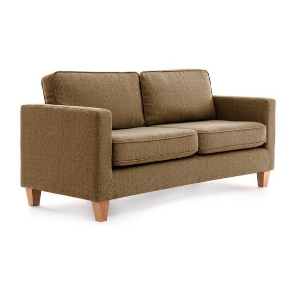 Canapea cu 3 locuri Vivonia Sorio, maro