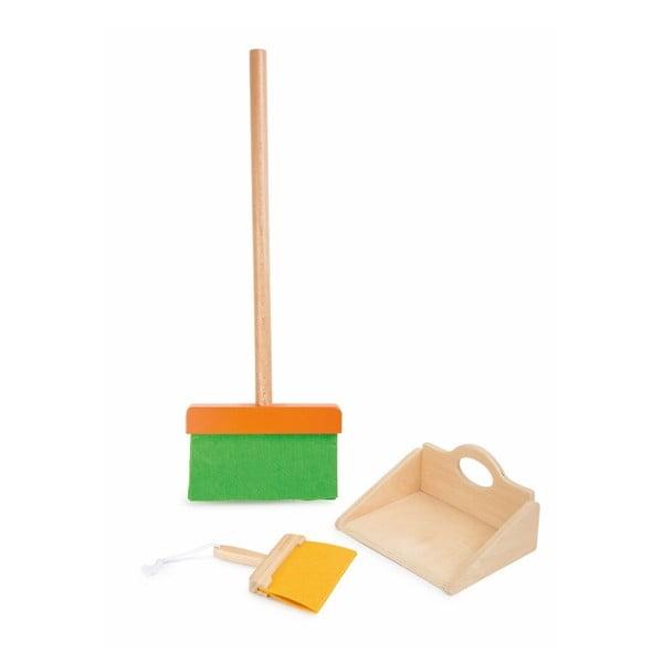 Dřevěná hrací sada Legler Broom