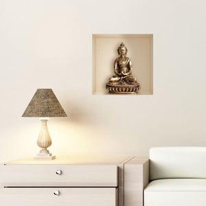 Autocolant cu efect 3D Fanastick Buddha Statue