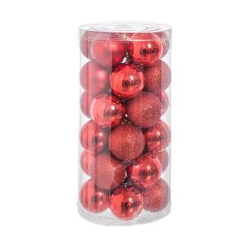 Set 30 decorațiuni de Crăciun Unimasa Baladdas, roșu imagine
