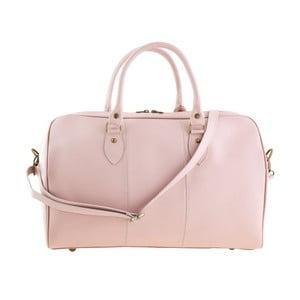 Geantă din piele Tina Panicucci Rodger, roz