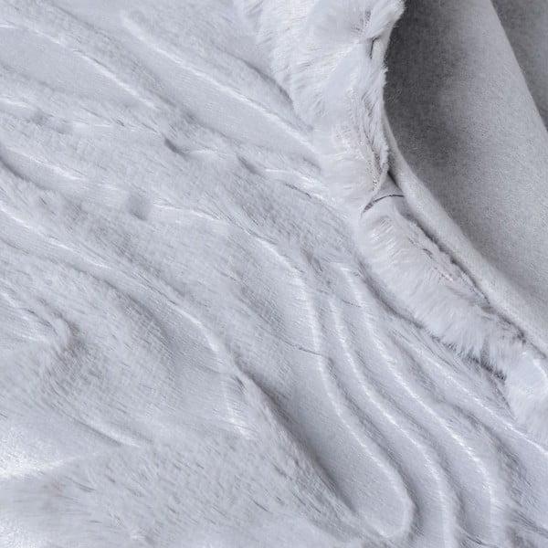 Přehoz Woodie Grey, 130x170 cm