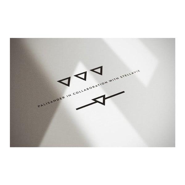 Plakát Owl Black/White, 50x70 cm