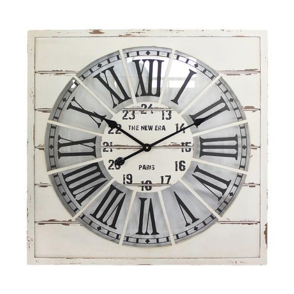 Nástěnné hodiny White Vintage, 68x68 cm