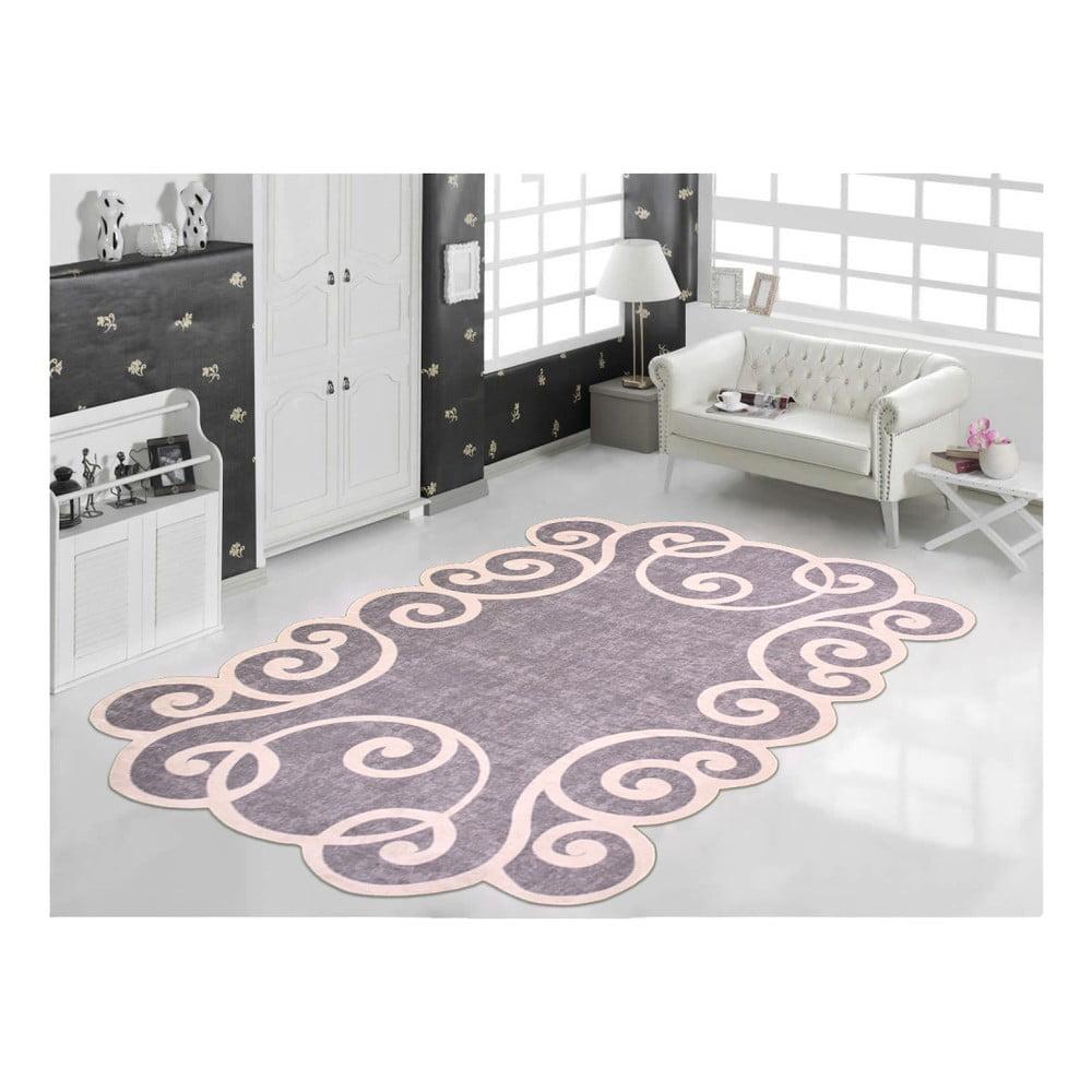 Odolný koberec Vitaus Gunna Gri, 80 x 150 cm