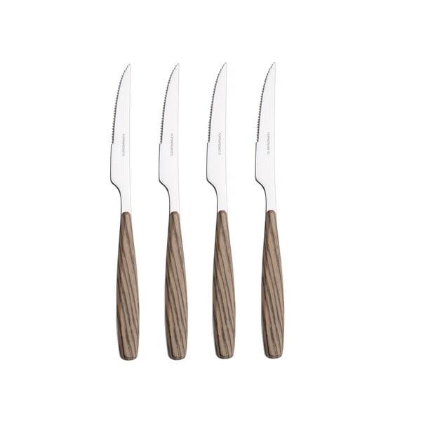 Sada steakových nožů Olivo, 4 ks