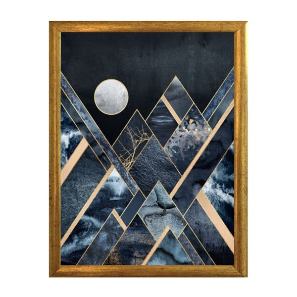 Plakat w ramce Piacenza Art Moon, 30x20cm