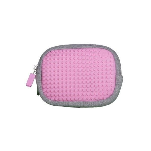 Pixelové univerzální pouzdro, grey/pink