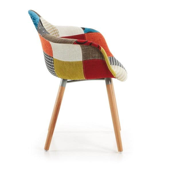 Sada 2 jídelních židlí La Forma Patchwork