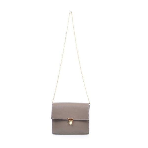 Kožená kabelka Jennifer, šedá
