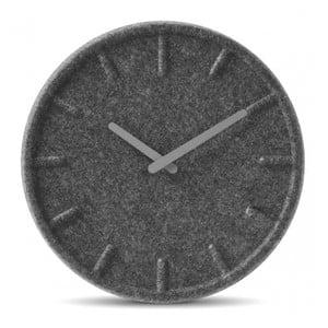 Nástěnné hodiny Grey Felt, 35 cm