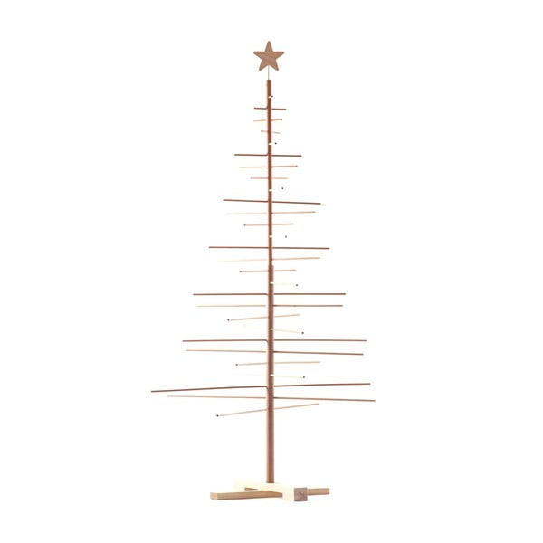 Drewniana choinka Nature Home Xmas Decorative Tree, wys. 190 cm