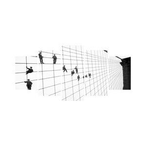 Vícedílný obraz Black&White no. 36, 100x50 cm
