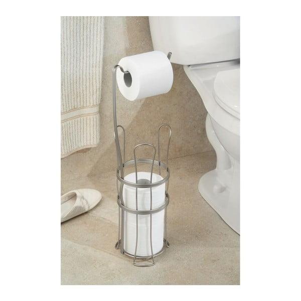 Držák na toaletní papír York Lyra se zásobníkem