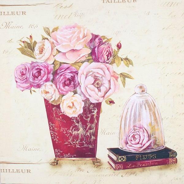 Obraz na plátně Fleurs I