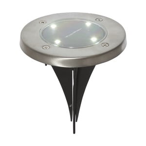 Sada 3 venkovních solárních LED bodové osvětlení BestSeason Lawnlight