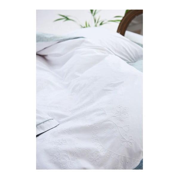 Povlečení PIP Lacy White, 140x200 cm