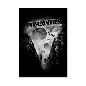 Plakát Parazombies od Florenta Bodart, 30x42 cm