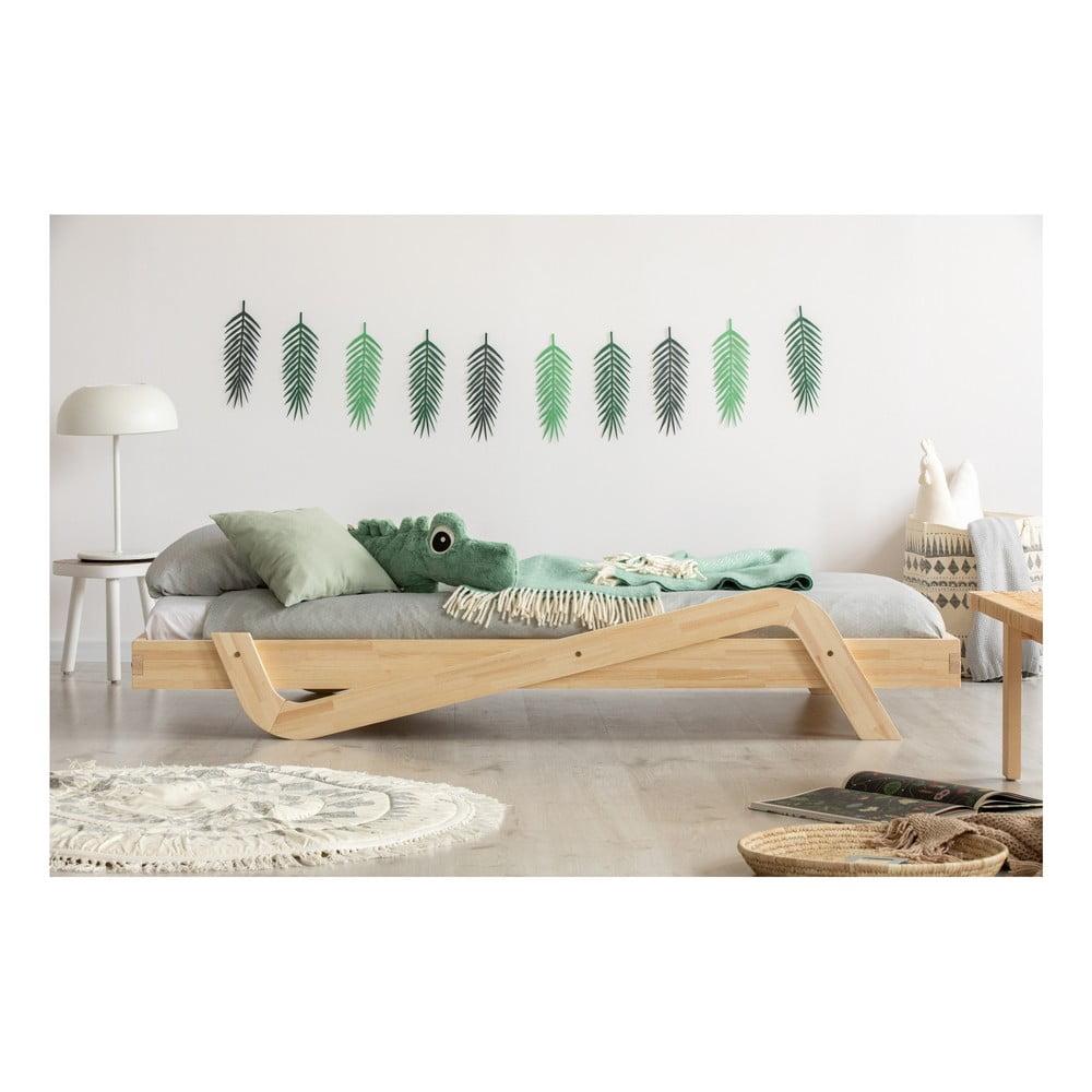 Dětská postel z borovicového dřeva Adeko Zig, 80 x 180 cm