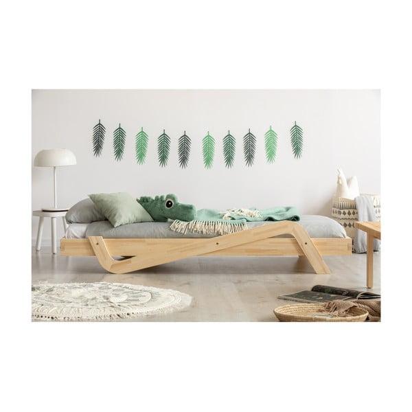 Dětská postel z borovicového dřeva Adeko Zig, 80 x180 cm