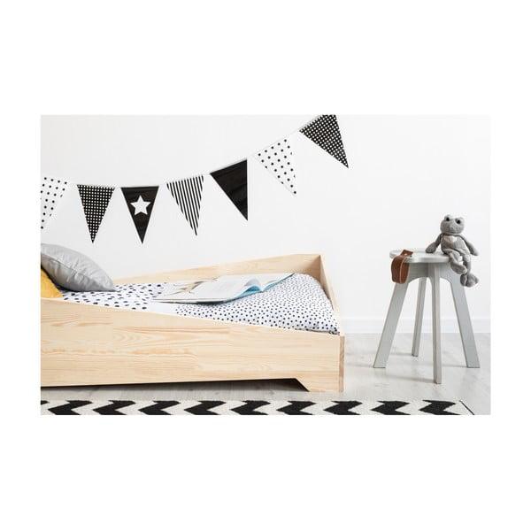 Dětská postel z borovicového dřeva Adeko BOX 7, 80x180 cm