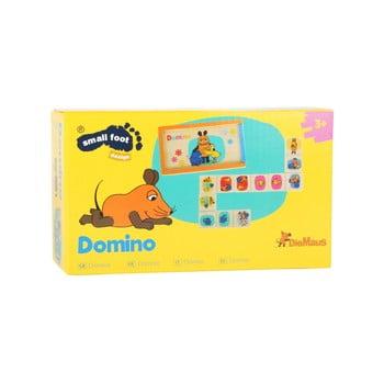 Domino din lemn pentru copii Legler Die Maus de la Legler