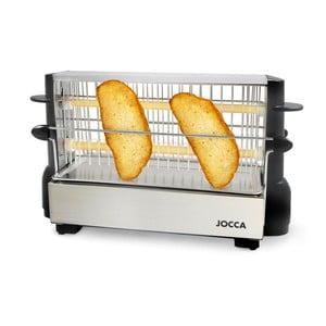 Vertikální toustovač ve stříbrné barvě JOCCA Toast