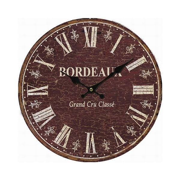 Nástěnné hodiny Antic Line Bordeaux, 34 cm