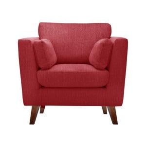 Fotoliu Jalouse Maison  Elisa, roșu clasic