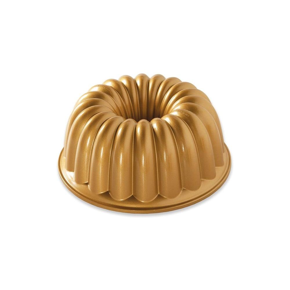 Forma na bábovku ve zlaté barvě Nordic Ware Elegant, 2,4 l