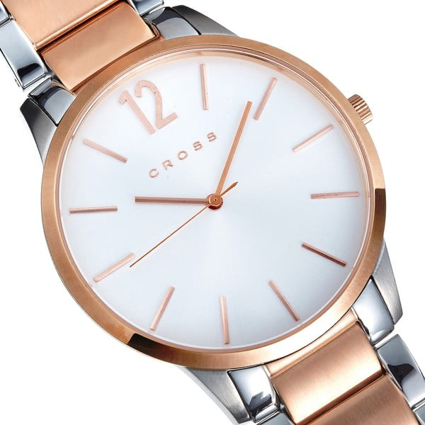 Pánské hodinky Cross Franklin Silver White, 43.5 mm