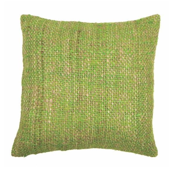 Chambray zöld párnahuzat, 45 x 45cm - Tiseco Home Studio