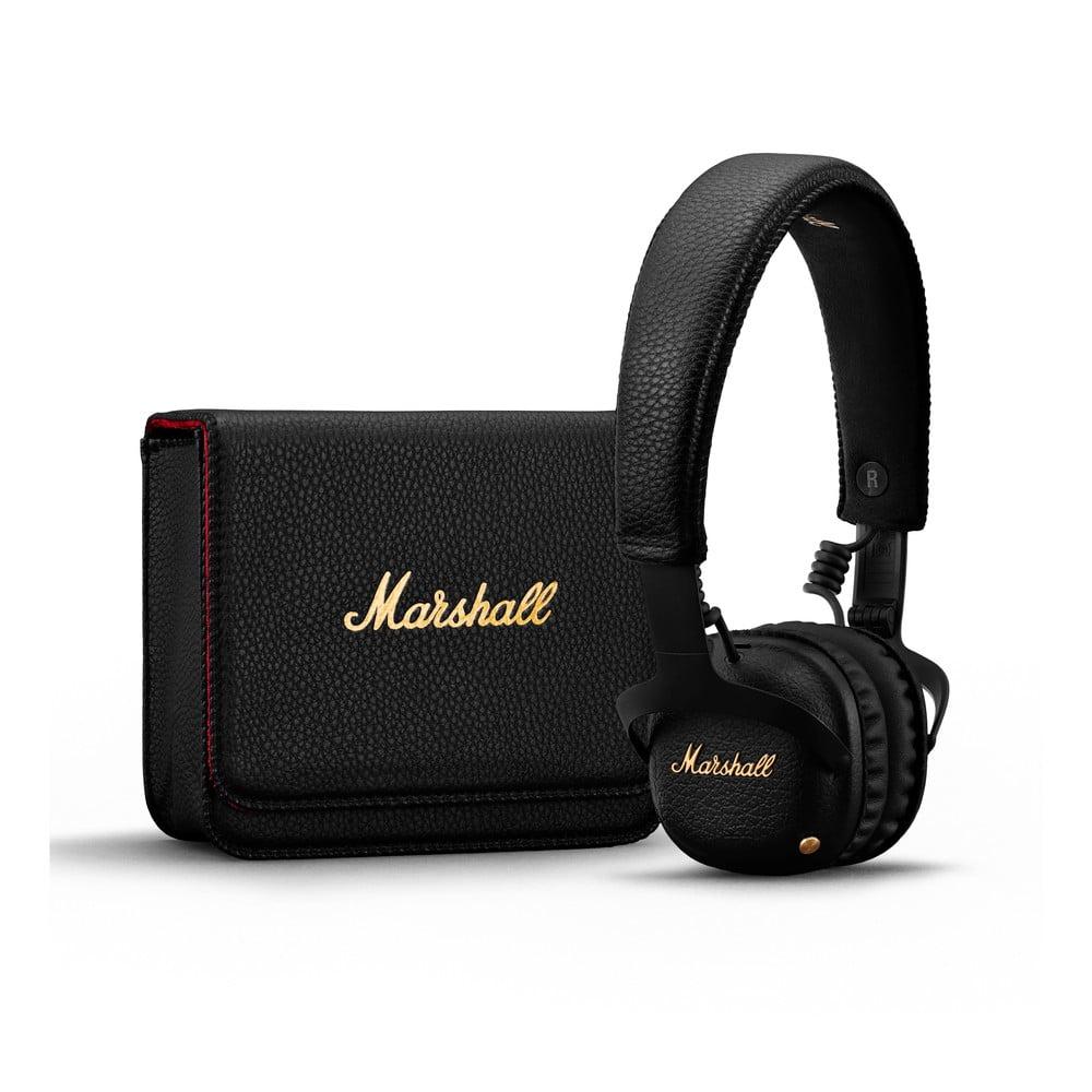 Černá bezdrátová sluchátka Marshall Mid A.N.C. Marshall