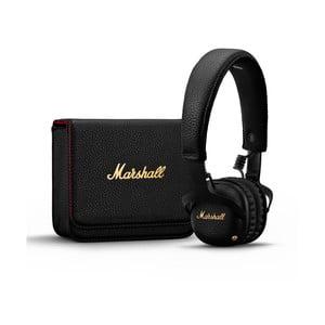 Černá bezdrátová sluchátka Marshall Mid A.N.C.