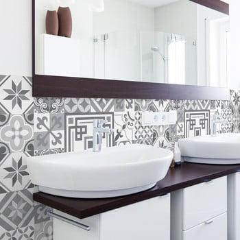 Set 30 autocolante de perete Ambiance Tiles Azulejos Marco, 10 x 10 cm de la Ambiance