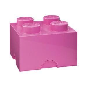 Růžová úložná kostka LEGO®