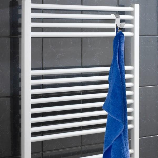 Sada 2 chromových háčků na ručníky Wenko Radiator
