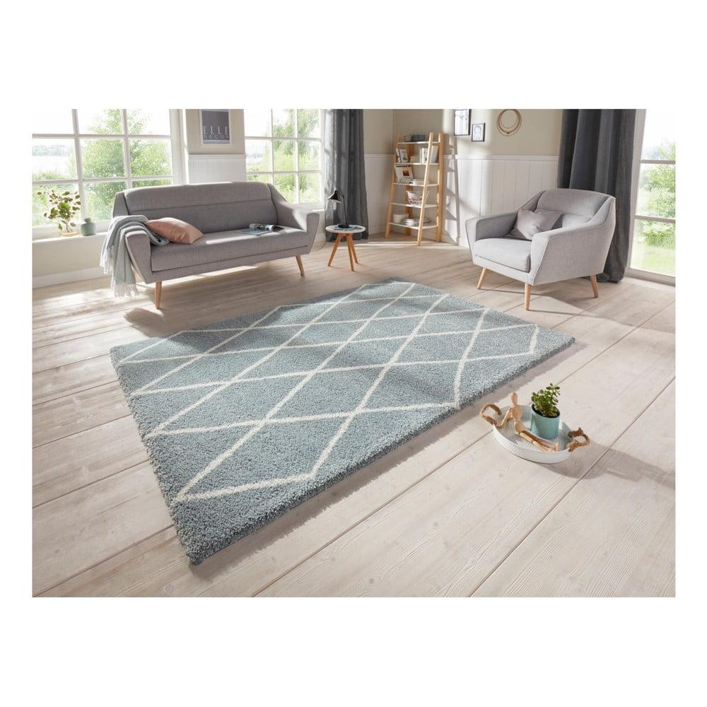 Produktové foto Modrý koberec Elle Decor Passion Abbeville, 160 x 230 cm