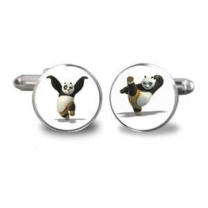 Sada 2 manžetových knoflíčků Butoni de Camasa Kung Fu Panda