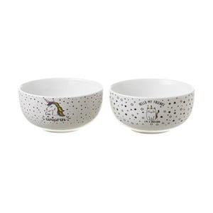 Sada 2 keramických misek Unimasa Fancy