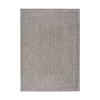Covor pentru exterior Universal Jaipur Berro, 80 x 150 cm, gri imagine