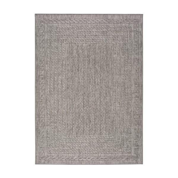 Šedý venkovní koberec Universal Jaipur Berro, 160 x 230 cm